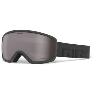 Giro Ringo, grey wordmark/Lens: vivid onyx - Skibrille