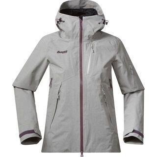 Bergans Haglebu Insulated Lady Jacket, melange / dusty plum - Skijacke