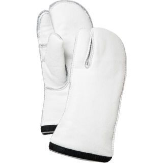Hestra Heli Ski Liner 3 Finger, offwhite - Unterziehhandschuh