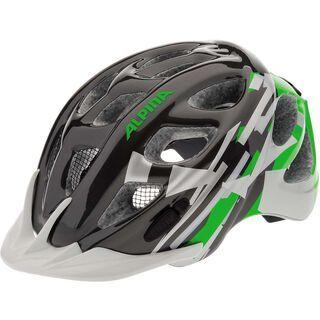 Alpina Rocky, titanium green white - Fahrradhelm