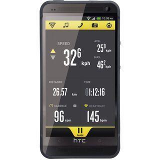 Topeak RideCase HTC One mit Halter, black - Schutzhülle