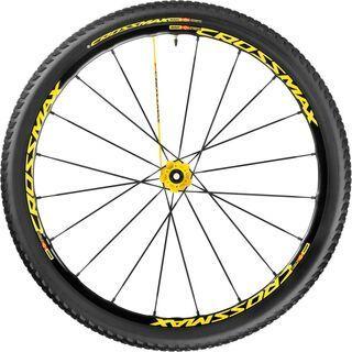 Mavic Crossmax SL Pro WTS 29, yellow - Hinterrad