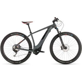 *** 2. Wahl *** Cube Reaction Hybrid SLT 500 29 2019, grey´n´red - E-Bike   Größe 17 Zoll