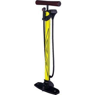 Azonic Arco DVC Floorpump, neon yellow - Standluftpumpe