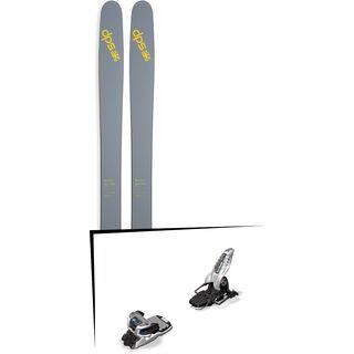 DPS Skis Set: Wailer 112 RPC Pure3 2016 + Marker Griffon 13