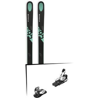 Set: Kästle FX95 HP 2019 + Salomon Warden MNC 13 white/black