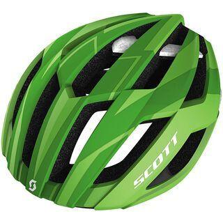 Scott Arx, green/white matt - Fahrradhelm
