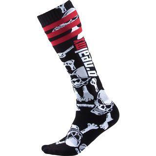 ONeal Pro MX Socks Crossbones, black/white - Radsocken