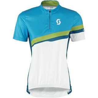 Scott Womens Endurance s/sl Shirt, blue/blue - Radtrikot