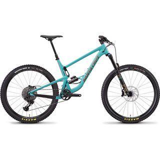 Santa Cruz Bronson AL S 2019, blue/gold - Mountainbike