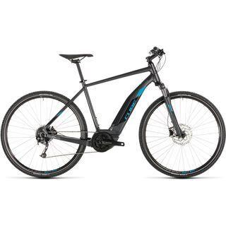Cube Cross Hybrid One 400 2019, iridium´n´blue - E-Bike