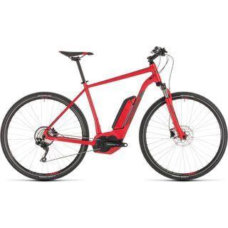Cube Cross Hybrid Pro 400 2019, red´n´grey - E-Bike