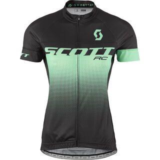 Scott RC Pro S/SL Women's Shirt, black/opal green - Radtrikot