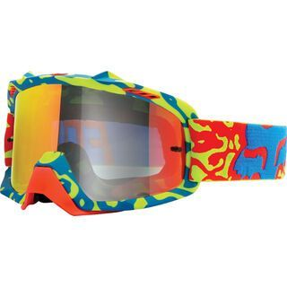Fox Air Space Youth Cauz, yellow red/clear - MX Brille