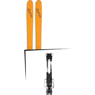 Set: DPS Skis Wailer 99 2017 + Atomic Tracker 13 MNC (1681261S)