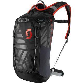 Scott Trail Lite FR' 14 Pack, caviar black/fiery red - Fahrradrucksack