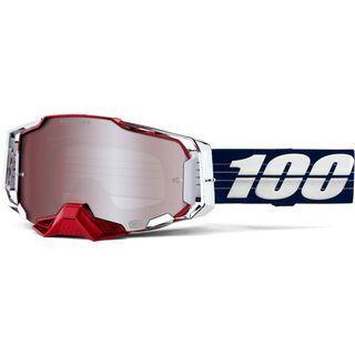 100% Armega Limited Edition Loic Bruni, Lens: hiper silver mirror - MX Brille