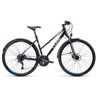 Cube Curve Allroad Trapeze 2015, black silver blue - Fitnessbike