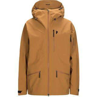 Peak Performance Radical Jacket, honey brown - Skijacke