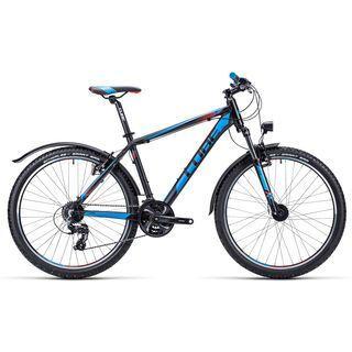 Cube Aim Allroad 26 2015, black/red/blue - Mountainbike