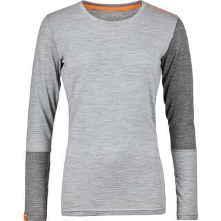 Ortovox 185 Merino Rock'n'Wool Long Sleeve W, grey blend - Unterhemd