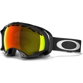 Oakley Splice, Jet Black/Fire Iridium - Skibrille
