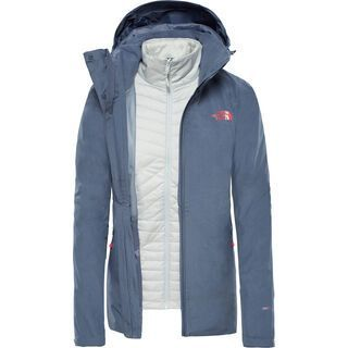 The North Face Womens Inlux Triclimate, grey/tin grey - Skijacke