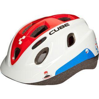 Cube Helm Kids, white´n´red´n´blue - Fahrradhelm
