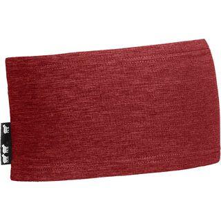 Ortovox Merino Fleece Light Headband, dark blood blend - Stirnband
