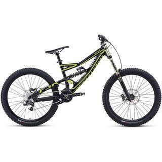 Specialized Status FSR II 2014, Black/Hyper Green - Mountainbike