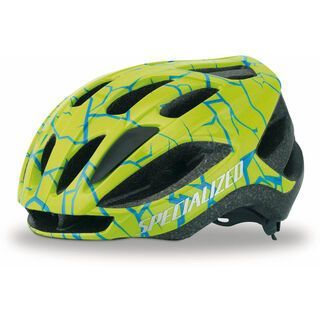 Specialized Flash, Hyper Green Crackle - Fahrradhelm