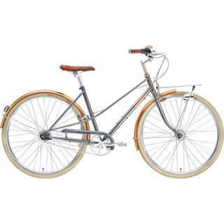 Creme Cycles Caferacer Lady Doppio gray rose 2021