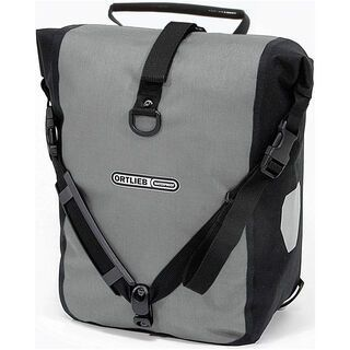 Ortlieb Front-Roller Plus, graphit-schwarz - Fahrradtasche