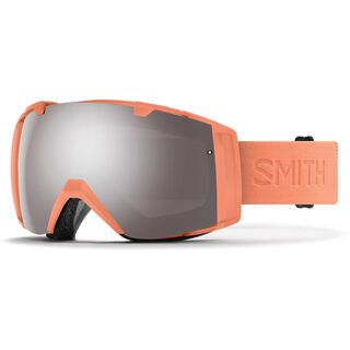 Smith I/O inkl. Wechselscheibe, salmon flood/Lens: chromapop sun platinum mirror - Skibrille