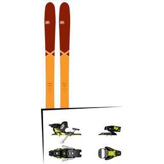 DPS Skis Set: Cassiar 95 Pure3 Special Edition 2016 + Salomon STH2 WTR 13