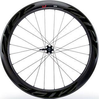 Zipp 404 Firecrest Carbon Clincher Disc-brake, schwarz - Vorderrad