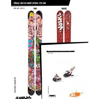 Völkl Set: Chop Stick 09/10 + Marker Jester 16