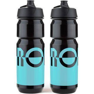 Rondo Bidon 2 x 750 ml Set, blue/black - Trinkflasche
