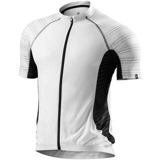 Specialized Atlas Comp Jersey SS, white/grey - Radtrikot