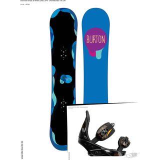 Set: Burton Genie  +  Stiletto (364547S)