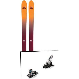 Set: DPS Skis Wailer F99 Foundation 2018 + Marker Griffon 13 ID white
