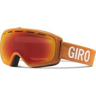 Giro Basis, ano orange monotone/amber scarlet - Skibrille