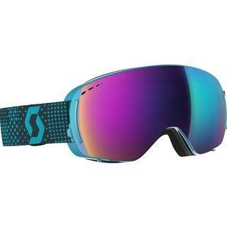 Scott LCG Compact, blue/black/Lens: solar teal chr - Skibrille