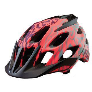 Fox Womens Flux Helmet, plum - Fahrradhelm