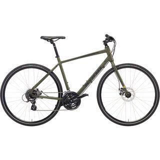 Kona Dew 650B 2018, olive/charcoal/yellow - Fitnessbike