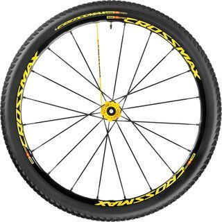 Mavic Crossmax SL Pro WTS 27.5, yellow - Hinterrad