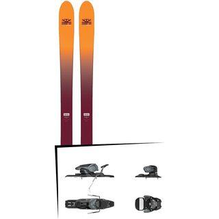 Set: DPS Skis Wailer F99 Foundation 2018 + Salomon Warden 11 dark grey/black