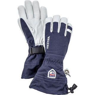 Hestra Army Leather Heli Ski 5 Finger navy