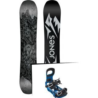 Set: Jones Ultra Mountain Twin 2019 + Bent Metal Joint blue