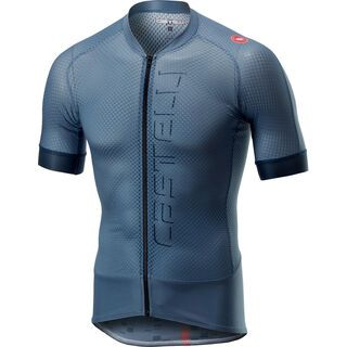 Castelli Climber's 2.0 Jersey FZ, light/steel blue - Radtrikot